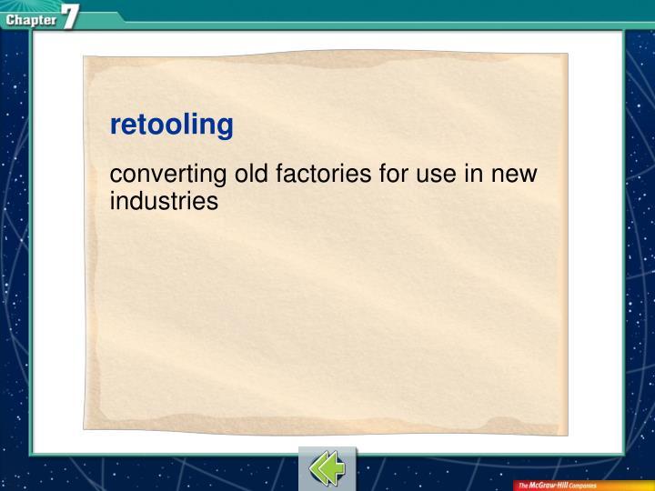 retooling