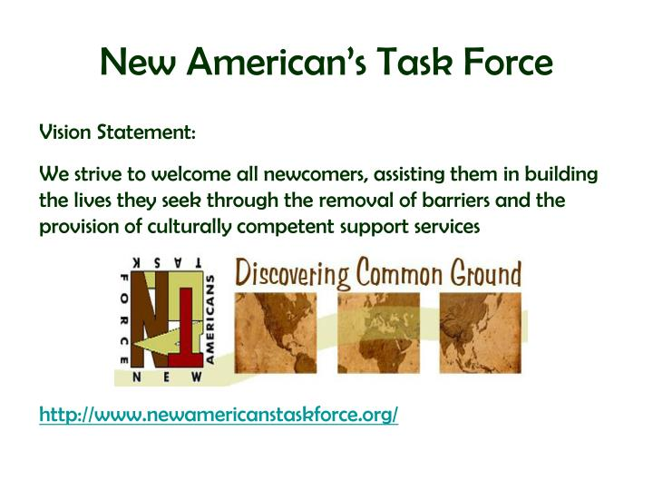 New American's Task Force