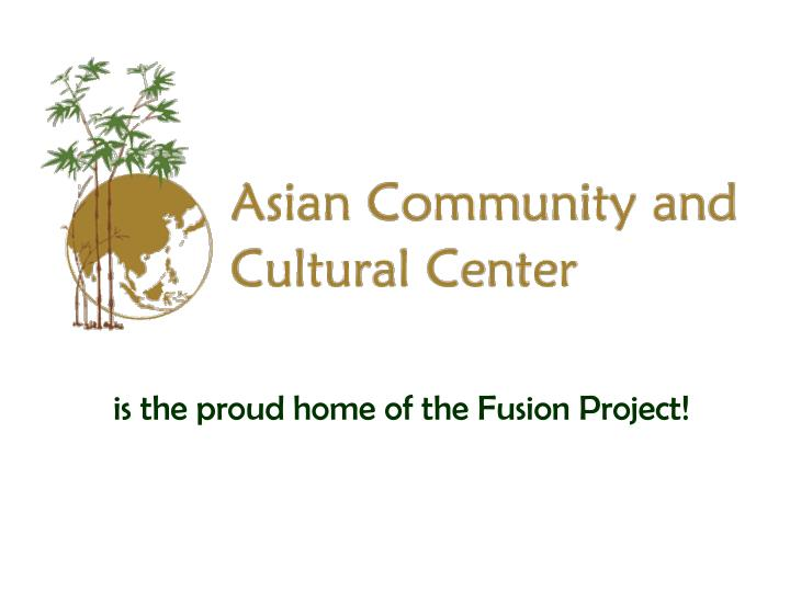 is the proud home of the Fusion Project!