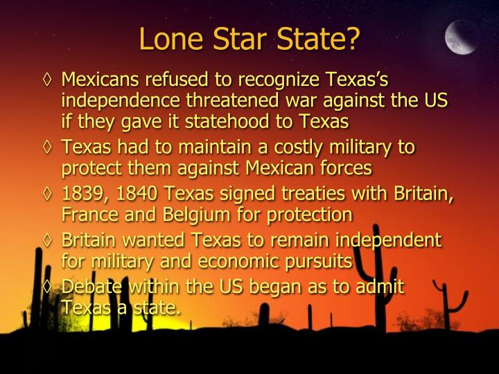 Lone Star State?