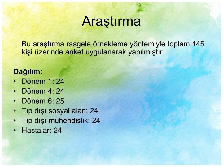 Aratrma