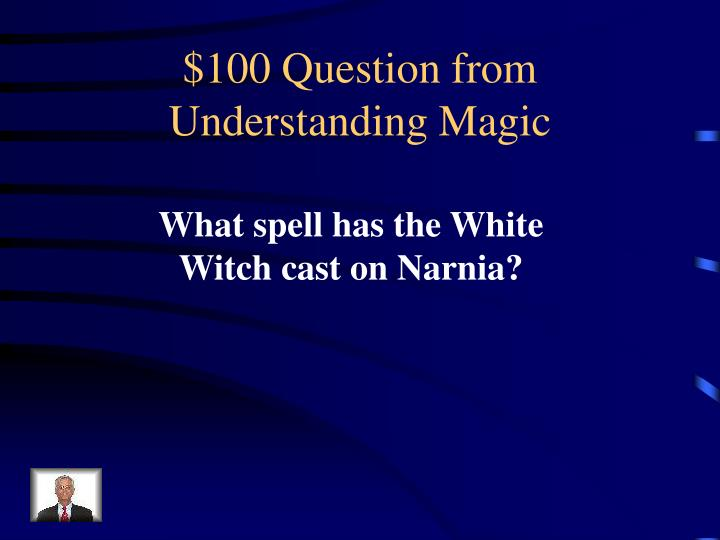 $100 Question from Understanding Magic