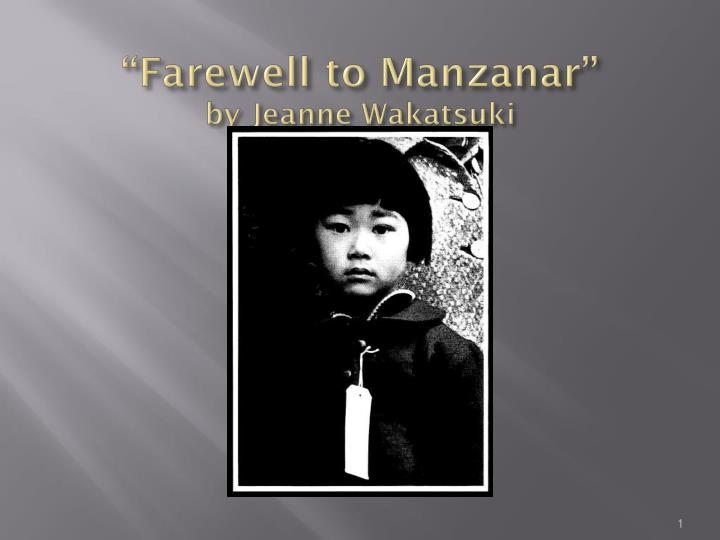 Have you read Farewell to Manzanar?