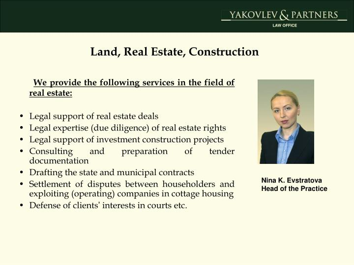 Land, Real Estate, Construction