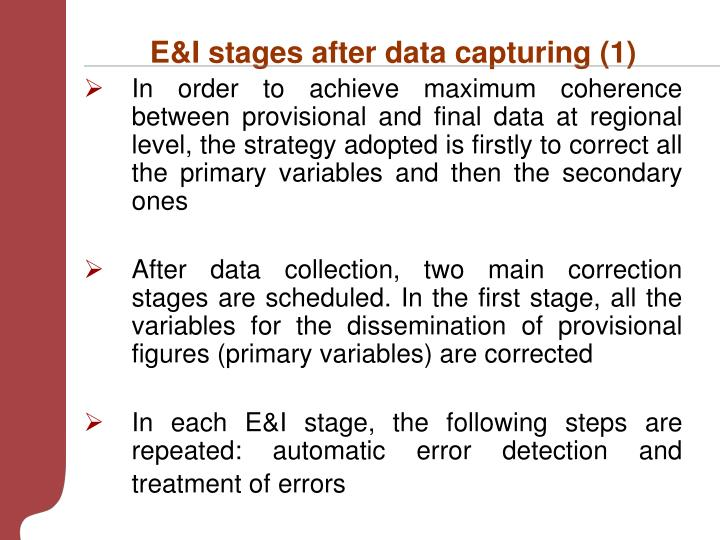 E&I stages after data capturing (1)