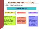 e i stages after data capturing 3