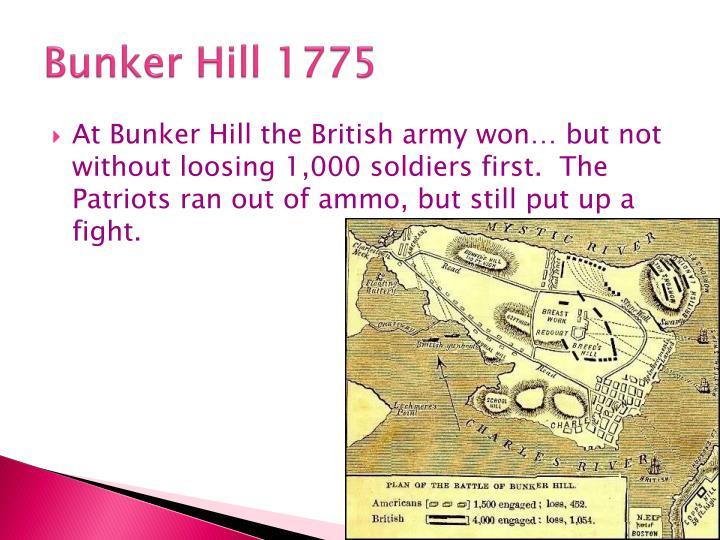 Bunker Hill 1775