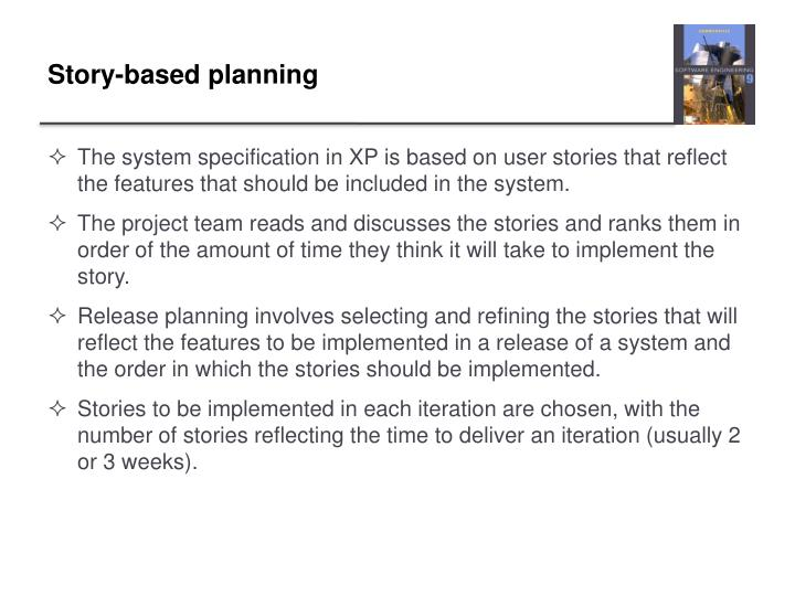 Story-based planning