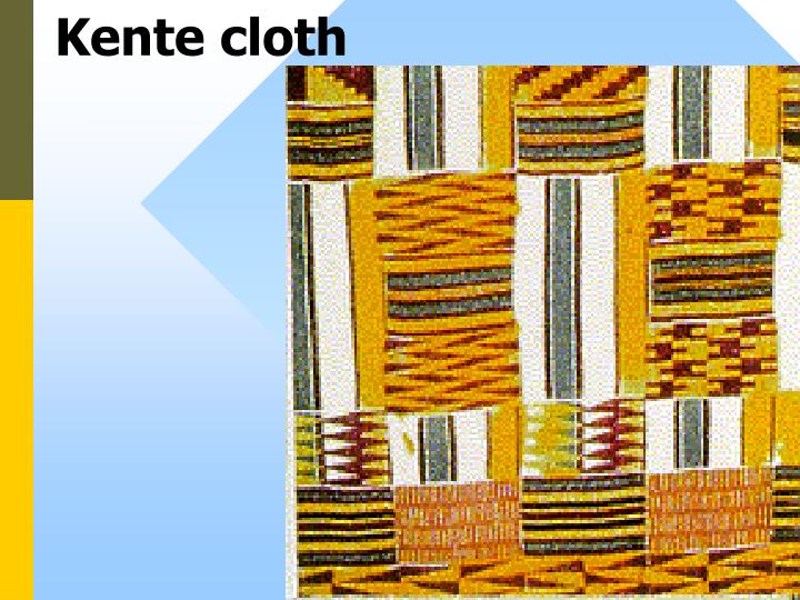 Kente cloth