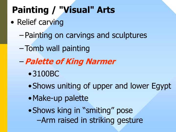 "Painting / ""Visual"" Arts"