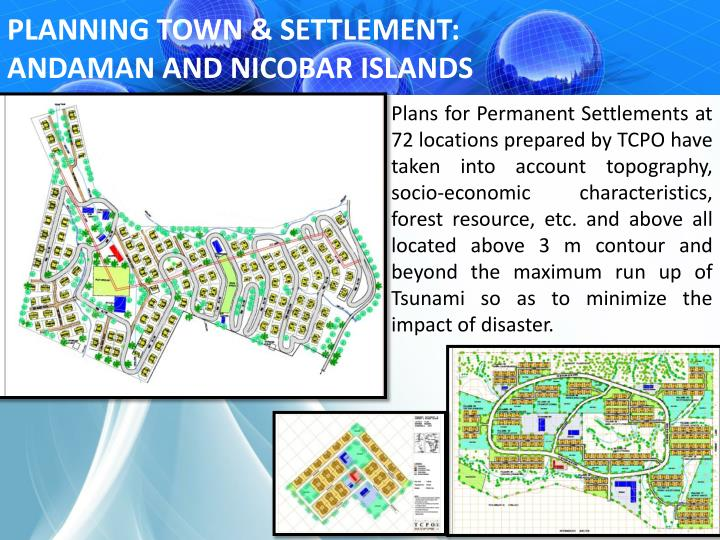 PLANNING TOWN & SETTLEMENT: