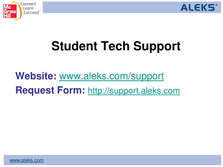 Student Tech Support