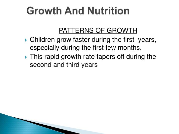 Growth And Nutrition