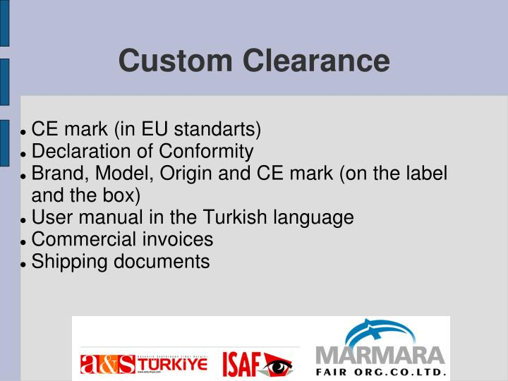 CE mark (in EU standarts)