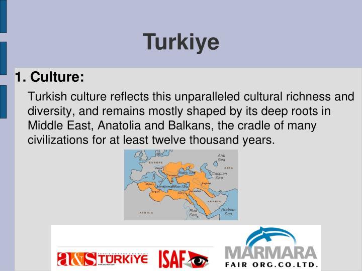 1. Culture: