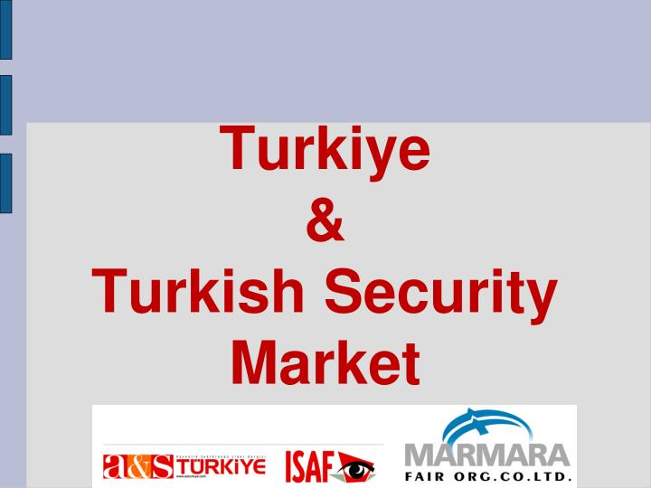 Turkiye turkish security market
