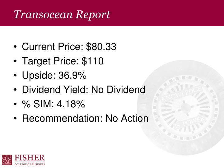 Transocean Report