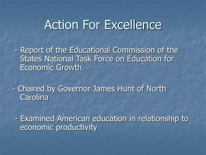 Action For Excellence