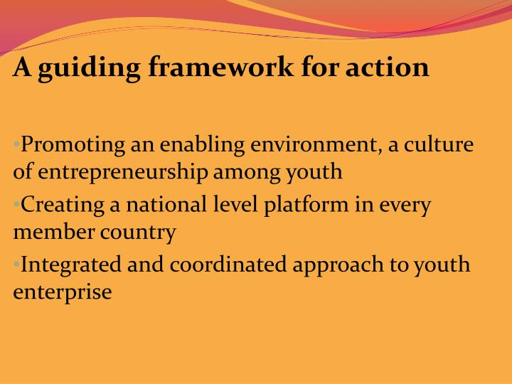A guiding framework for action