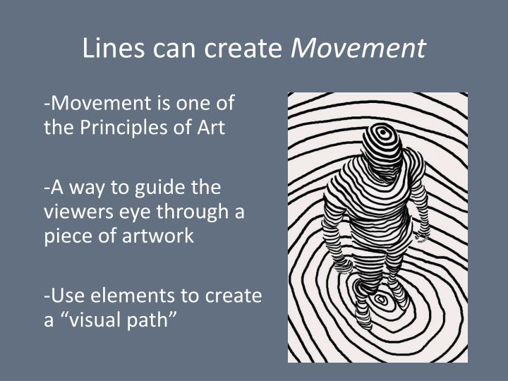 Principles Of Art Line : Ppt line powerpoint presentation id