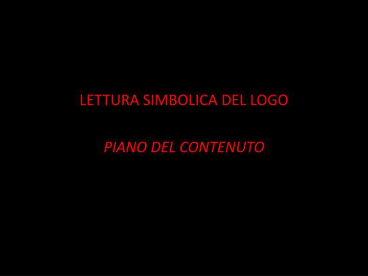 LETTURA SIMBOLICA DEL LOGO