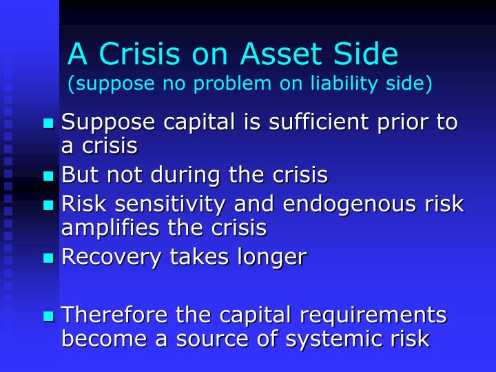 A Crisis on Asset Side