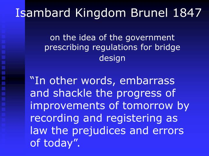 Isambard Kingdom Brunel 1847