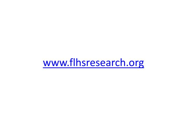www.flhsresearch.org