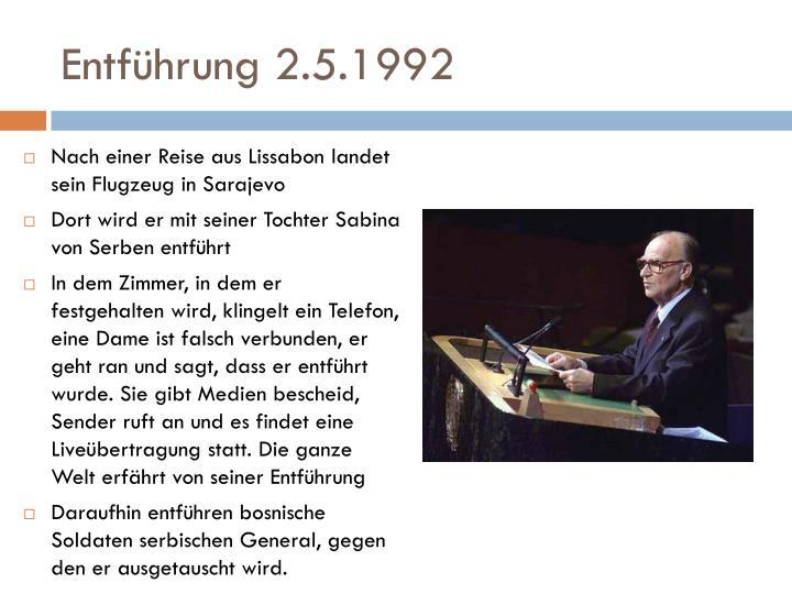 Entführung 2.5.1992
