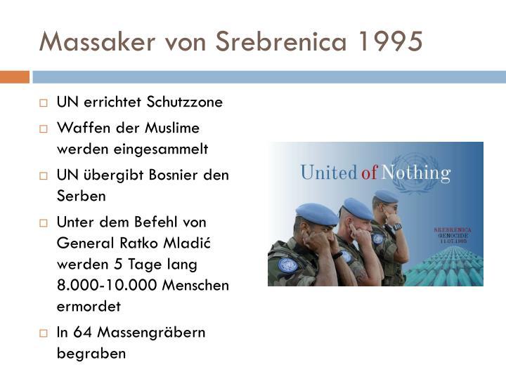 Massaker von Srebrenica 1995