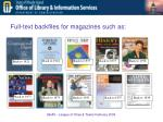 full text backfiles for magazines such as