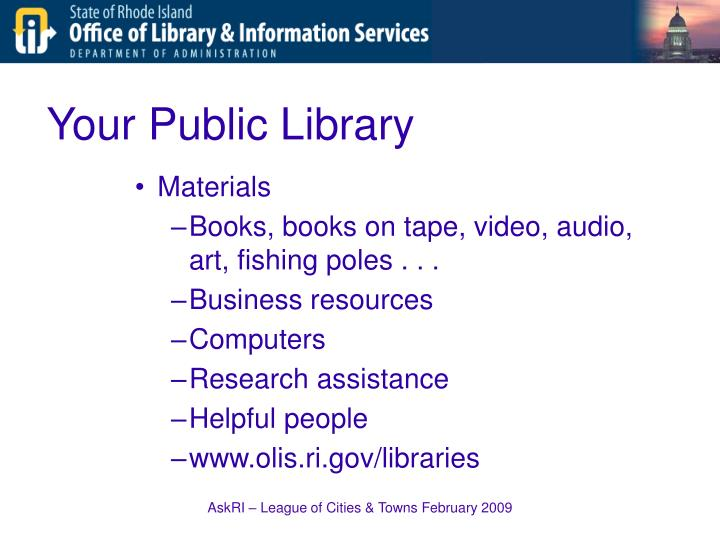 Your Public Library