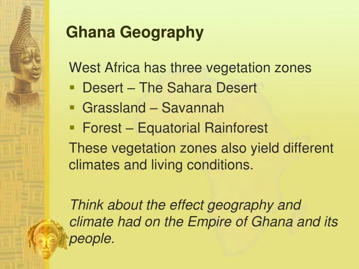 Ghana Geography