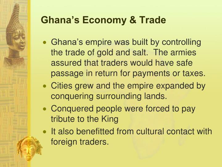 Ghana's Economy & Trade
