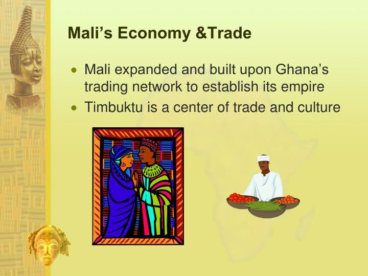 Mali's Economy &Trade