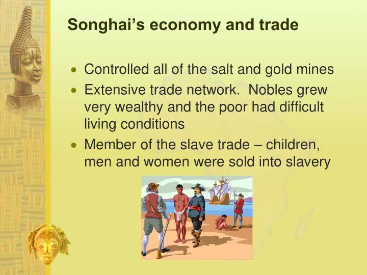 Songhai's economy and trade