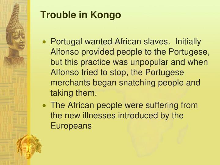 Trouble in Kongo