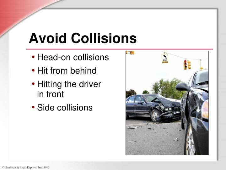 Avoid Collisions