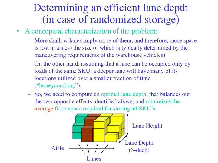 Lane Height