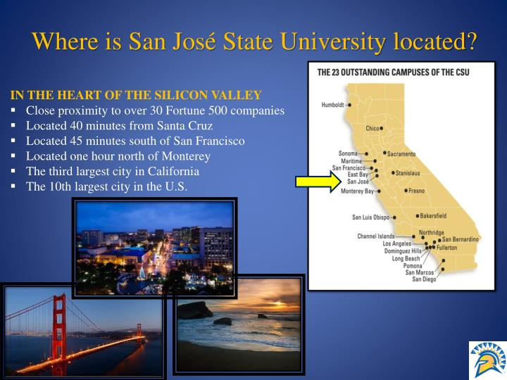 Where is San José State University located?
