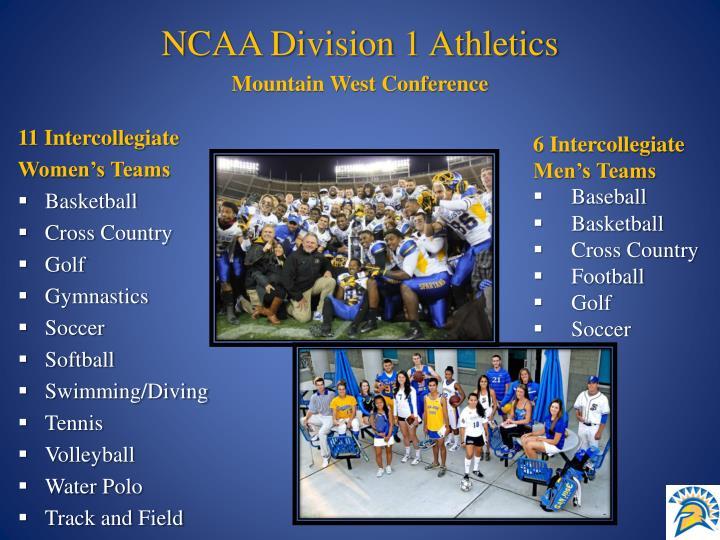 NCAA Division 1 Athletics