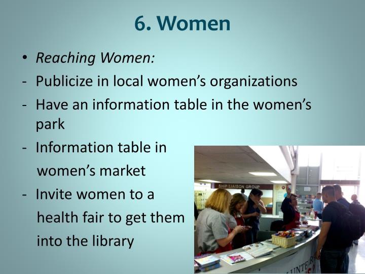 6. Women