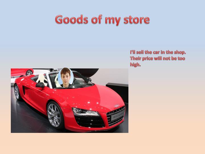 Goods of
