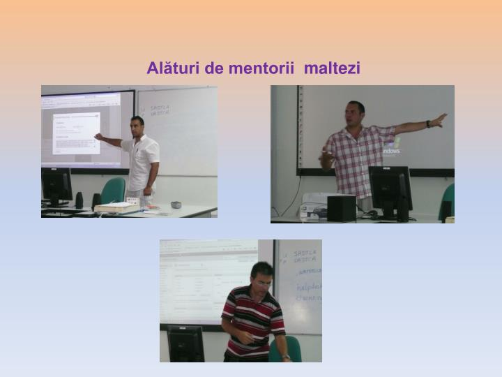 Alături de mentorii
