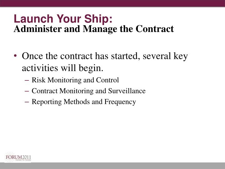 Launch Your Ship: