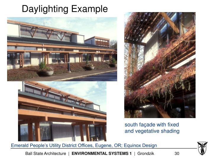 Daylighting Example
