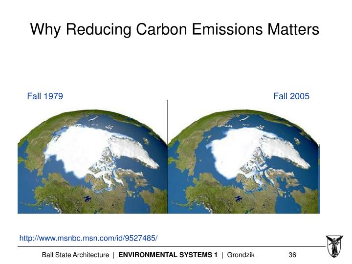 Why Reducing Carbon Emissions Matters