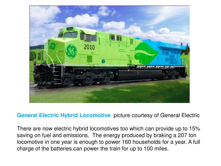General Electric Hybrid Locomotive