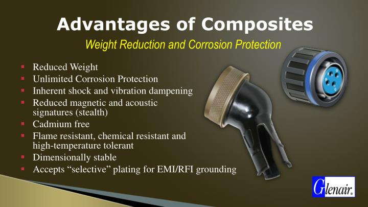 Advantages of Composites