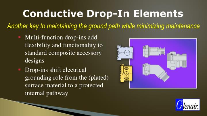 Conductive Drop-In Elements